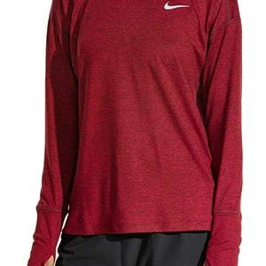 Nike Women's new element long sleeve size M